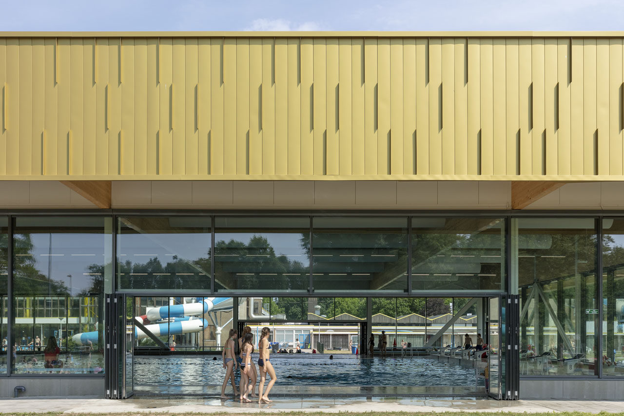New 50m pool Twentebad, Hengelo