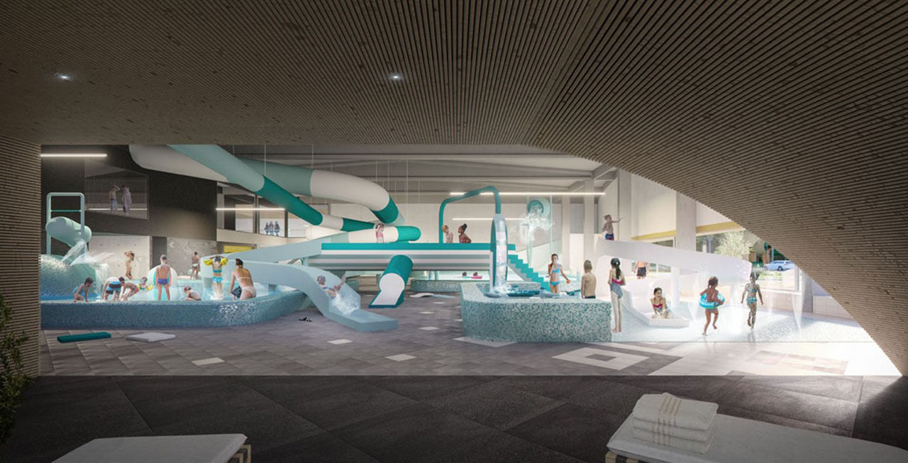 New municipal swimming pool Aalst (BE)
