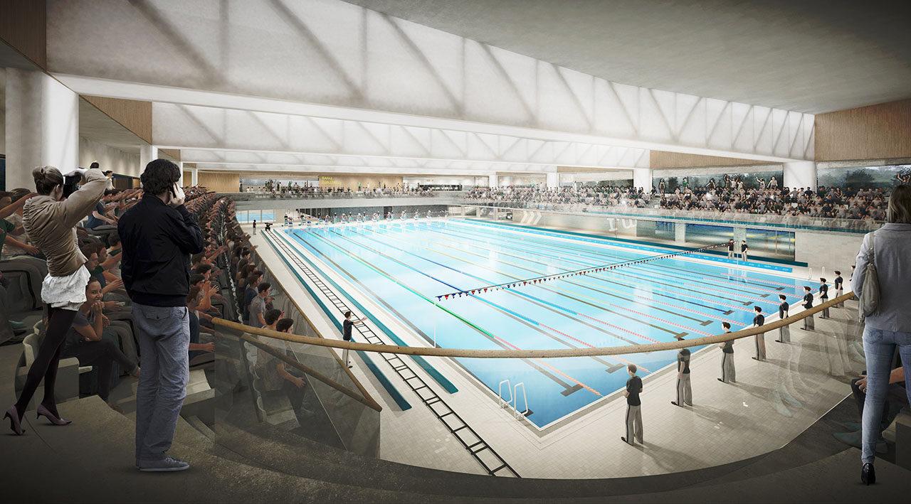 National Schwimmstadion Litauen, Vilnius
