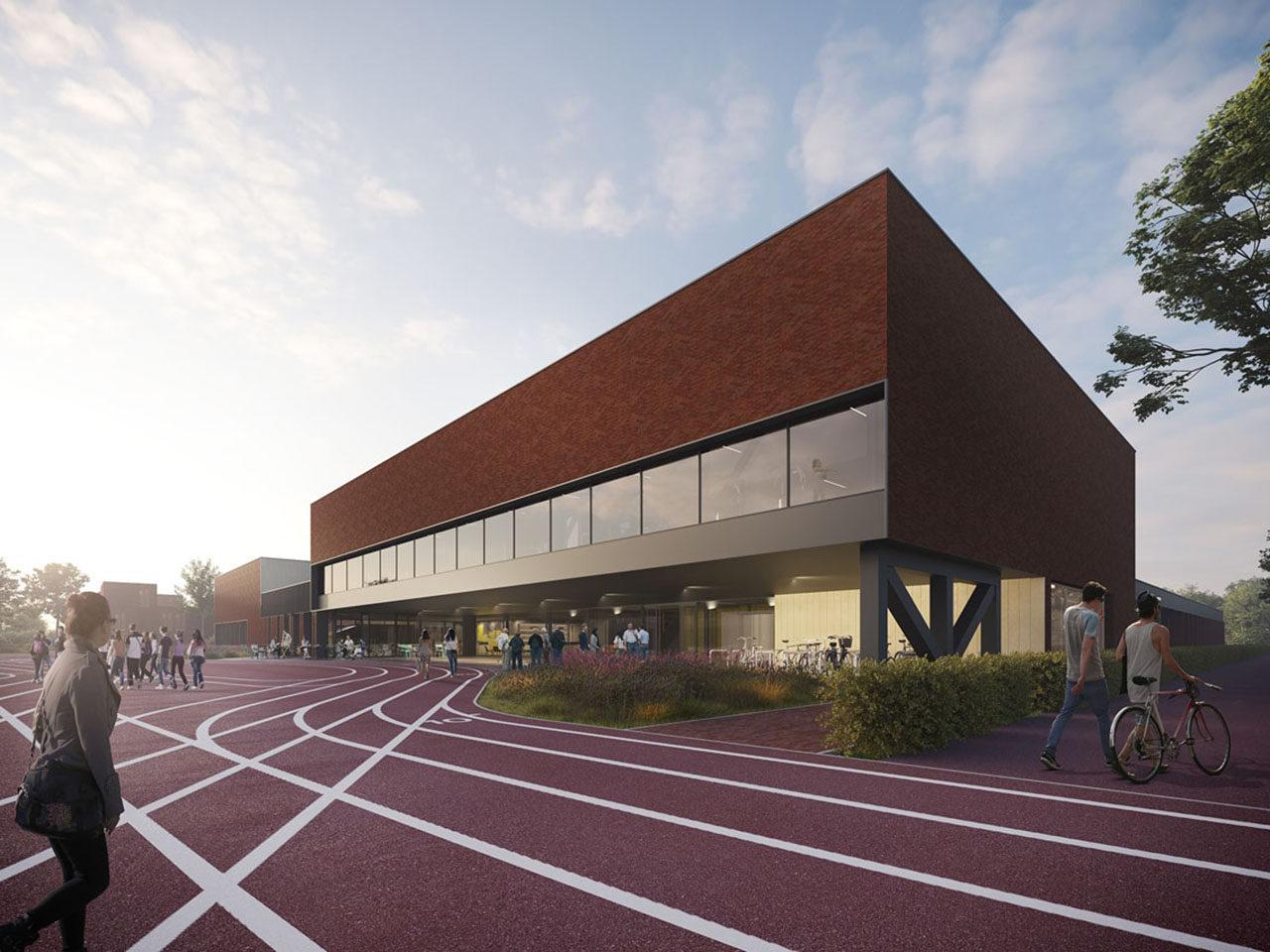 Sports complex Hellevoetsluis