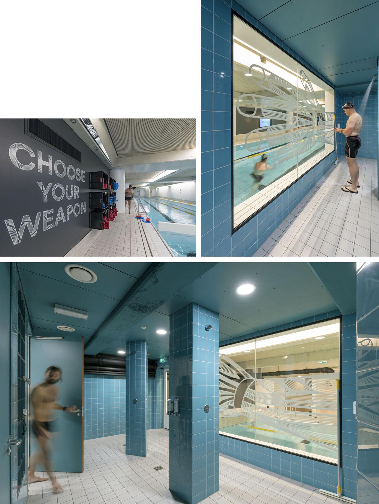50m zwembad The Student Hotel, Amsterdam