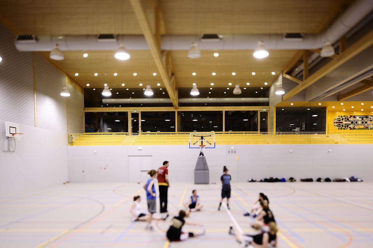 Sports centre Nieuw Zuilen, Utrecht