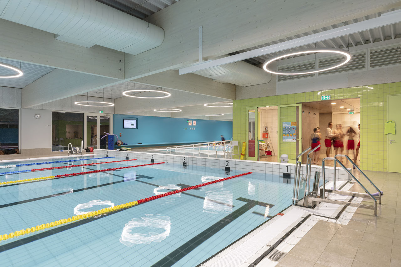 Swimming pool Den Bessem, Mortsel (BE)