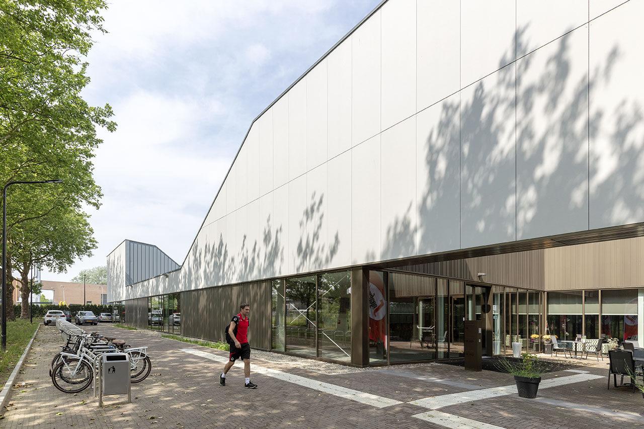 Sports hall De Geusselt, Maastricht