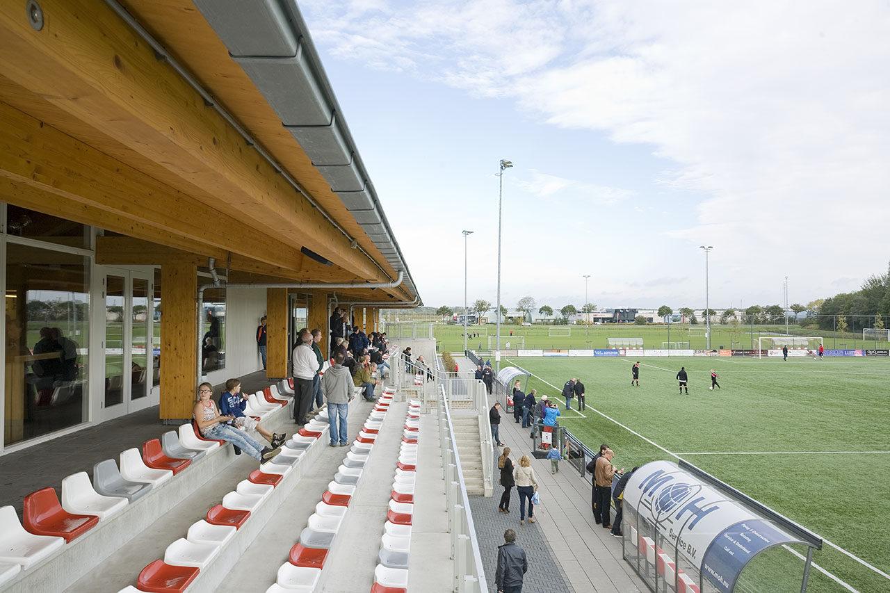 Sports pavilions Geuzenpark, Brielle