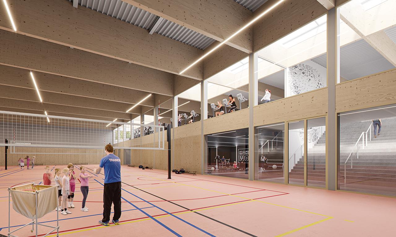 Sportcomplex Krokodiel Middelkerke